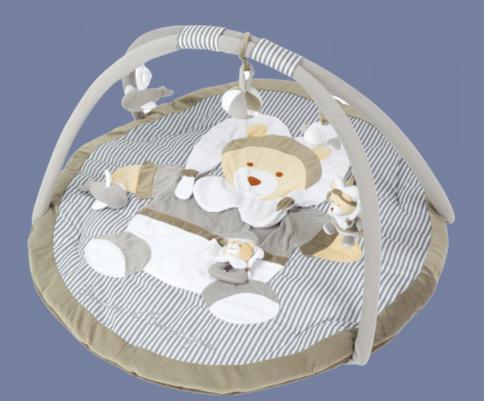 Les Bebes Du Bonheur Tapis D 39 Veil Ours Taupe Doudou Et Compagnie