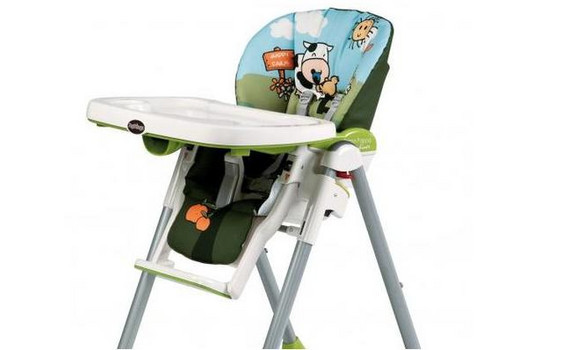 Housse Chaise Haute Peg Perego Happy Farm