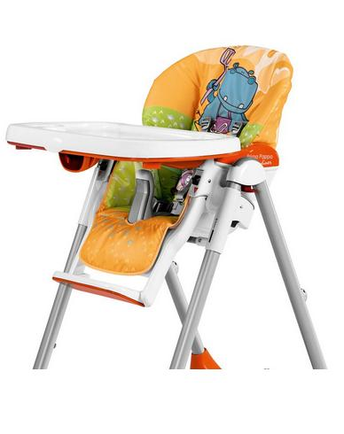 housse chaise haute peg perego hippo arancio les b b s du bonheur. Black Bedroom Furniture Sets. Home Design Ideas