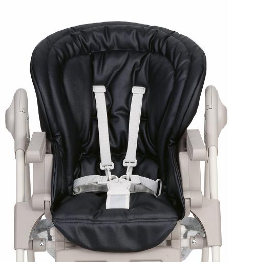 les bebes du bonheur housse de chaise polly magic chicco black. Black Bedroom Furniture Sets. Home Design Ideas