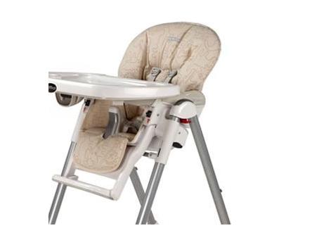housse chaise haute peg perego sable les b b s du bonheur. Black Bedroom Furniture Sets. Home Design Ideas