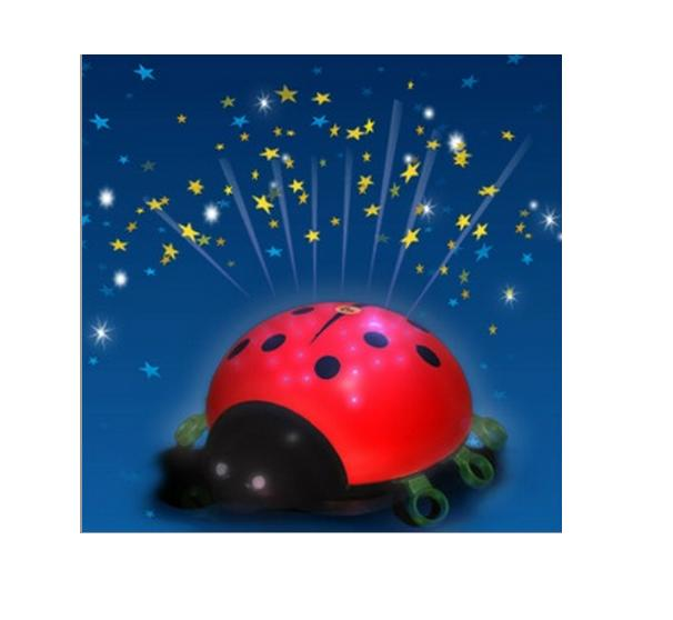 Veilleuse coccinelle projection galaxy beetlestar les - Veilleuse bebe projection plafond ...
