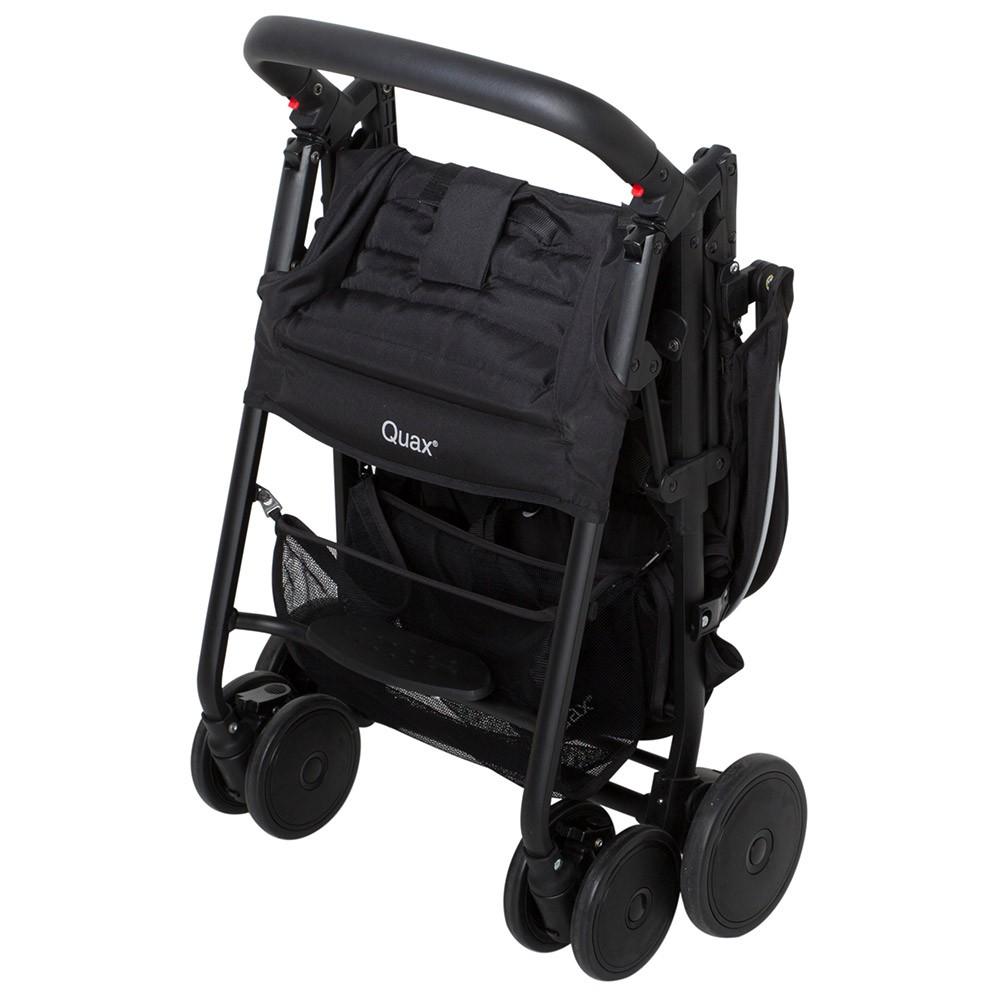 poussette buggy compact xl noire quax les b b s du bonheur. Black Bedroom Furniture Sets. Home Design Ideas