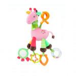 Doudou d'Activités Girafe avec Pince Clip Babysun
