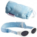 Lunettes bébé bandeau bleu motif Béaba