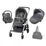 Trio Streety plus Next concrète grey Bébé confort