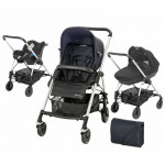 Trio Streety next total black Bébé Confort