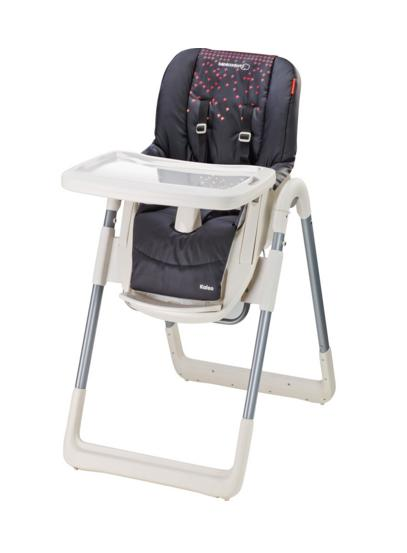 chaise haute kaleo aristo black b b confort les b b s du bonheur. Black Bedroom Furniture Sets. Home Design Ideas