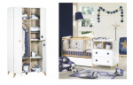 Lit combiné + armoire Oslo Sauthon avec tiroir - étoiles