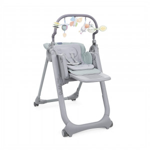 Chaise haute Polly Magic Relax Antiguan Sky Chicco