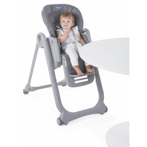 Chaise haute Polly Magic Relax Graphite Chicco