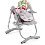 Chaise haute bébé Polly Magic bordeaux Chicco