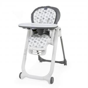 Chaise haute bébé Polly Progres5 grey Chicco