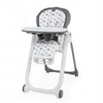 Chaise haute bébé Polly Progres5 grey Chicco