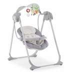 Balancelle Polly swing up Silver Chicco