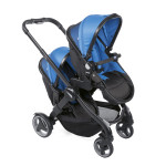 Poussette double Fully Power blue Chicco