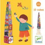 10 cubes Rigolos Djeco