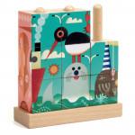 Puzz-up sea - Puzzle cube en bois - Djeco