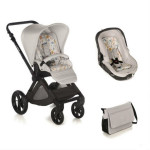 Pack poussette duo Muum avec Matrix light 2 Pearl