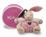 Doudou Petite rose medium patapouf lapin Kaloo