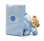 Protège carnet de santé blue Kaloo