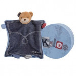 Doudou ourson trésor Blue Denim Kaloo