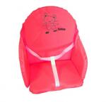 Coussin de chaise PVC avec sangles framboise Looping