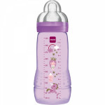 Biberon easy active 330 ml coloré violet Mam