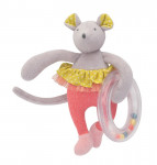 Anneau billes souris Mademoiselle et ribambelle Moulin Roty