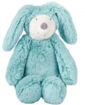 Doudou lapin bleu la bande à Basile musical Moulin Roty