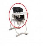 Housse de chaise Polly Magic Chicco - noire