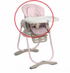 Housse de chaise Polly Magic Chicco - rose