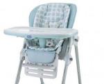 Housse de chaise haute Polly Chicco shapes