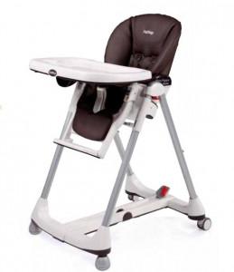 Housse de chaise haute peg perego cacao simili cuir les for Housse chaise haute peg perego