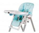 Housse chaise haute Peg Perego azzurro