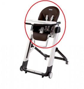 Housse chaise haute siesta cacao peg perego les b b s du - Housse chaise haute universelle ...