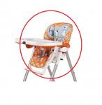 Housse chaise haute Peg Perego Pupazzi arancio