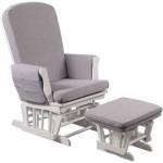 Fauteuil d'allaitement Gliding Chair gris Quax