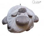 Pouf Cow Leo - Quax