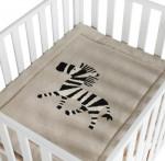 Tricot Fond De Parc - Zebra Quax