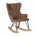 Rocking Kids Chair De Luxe - Latte Quax