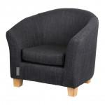 Sofa - Linen - Darkgrey Quax