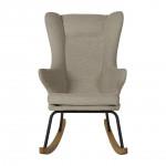 Rocking Chair adulte De Luxe - argile Quax