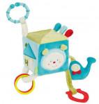 Cube d'activités diabolo turquoise BabyFehn