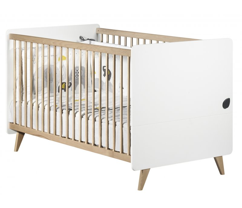 Chambre Oslo: Chambre Oslo Gouttes Little Big Bed 140x70 Commode Et
