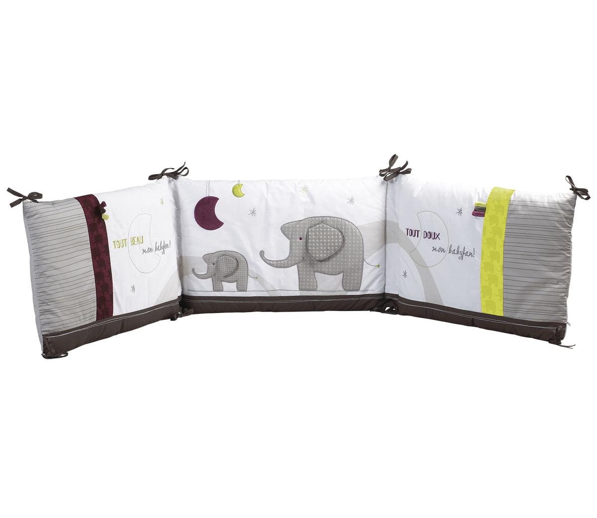 tour de lit india sauthon les b b s du bonheur. Black Bedroom Furniture Sets. Home Design Ideas