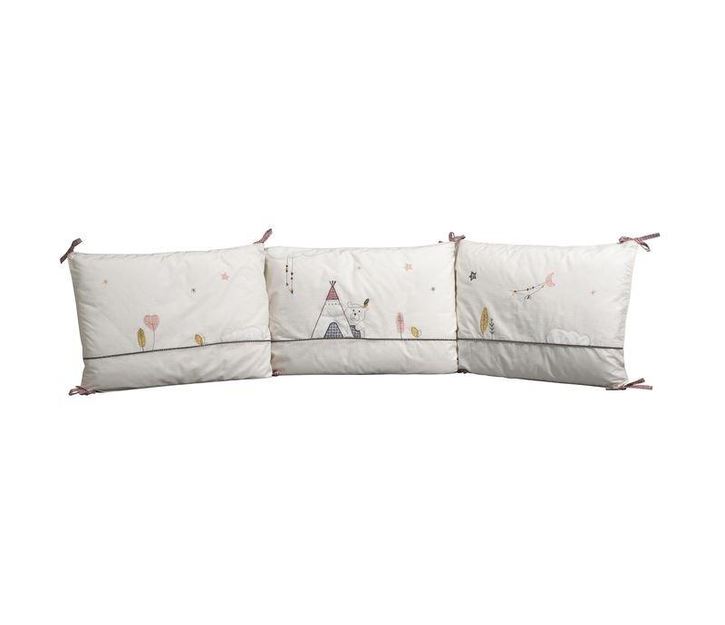 tour de lit timouki sauthon les b b s du bonheur. Black Bedroom Furniture Sets. Home Design Ideas