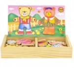 jouet encastrement en bois couple ourson Ulysse