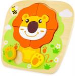 Puzzle bois Lion Ulysse
