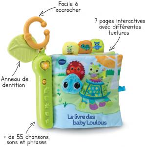 Livre toudoux des Loulous - Baby Loulous Vtech